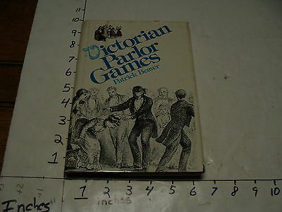 VICTORIAN PARLOR GAMES, patrick beaver, 1974 first edition