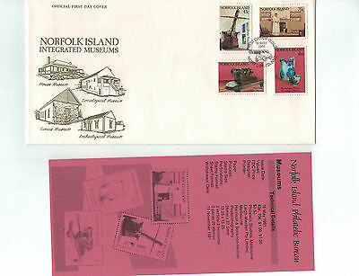 1991 Norfolk Island Integrated Museums FDC
