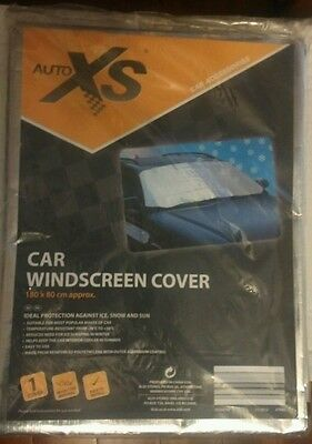 AutoXS CAR WINDSCREEN COVER - IDEAL PROTECTION AGAINST ICE, SNOW & SUN