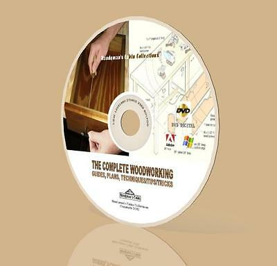 Complete Woodworking Over 10,000 Plans, Projects, Guides DVD