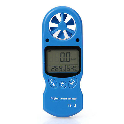Wind Speed Anemometer Thermometer Humidity Wind Chill Indicator HAND HELD