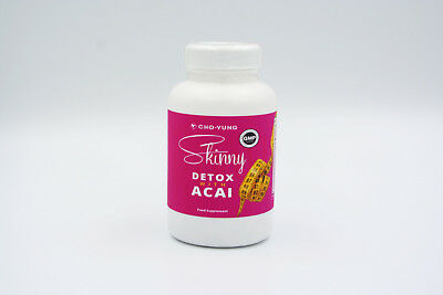 Skinny Fibre Detox and Colon Cleanse Weight Loss Pill With Acai