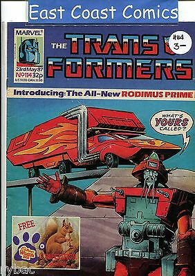 TRANSFORMERS #114 - MARVEL UK WEEKLY COMIC 1980's