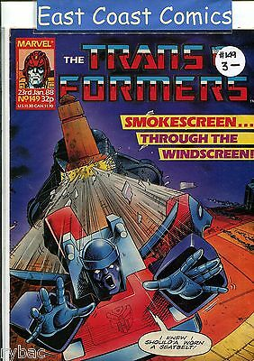 TRANSFORMERS #149 - MARVEL UK WEEKLY COMIC 1980's