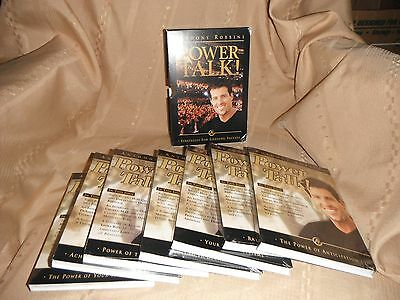 anthony robins power talk strategies for lifelong success 7 cd set new and seale