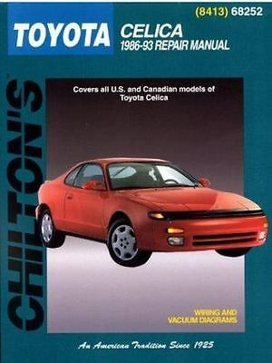 1986 1993 chilton toyota celica repair manual 1200 picclick new toyota celica 1986 93 chilton total car care series manuals fandeluxe Images