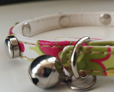 LEATHER MAGNETIC CAT COLLAR RELIEVES ARTHRITIS * pet cure health arthritic pain
