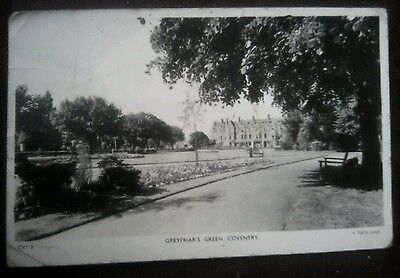 Vintage/Old Postcard,,,,,,,, Greyfriars Green, Coventry