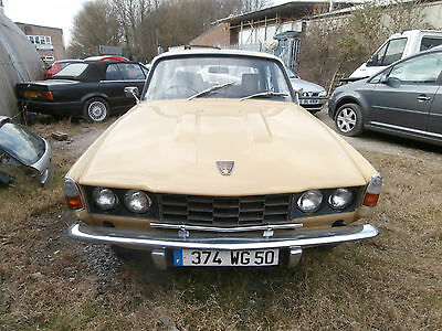 Rover P6 2200 Automatic FRENCH REGISTERED