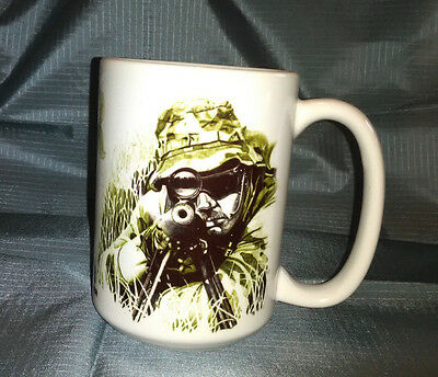 NEW Mug ~ SNIPER image by Dick Kramer ~ GREAT All-Over Graphics ~ XL & Heavy