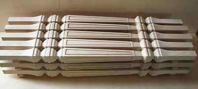 Wood Stair Balusters Square Banisters Posts (English style) oak, beech, ash