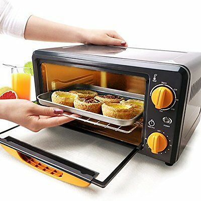SKG High Performance 1000W 0.38 CU FT Mini Portable Toaster Oven Broiler - NEW