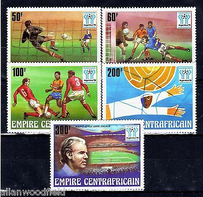 Central Africa  #303-307   Mint Nh   (1603046)