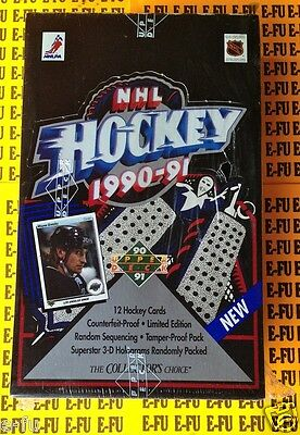 1990-91 UD Upper Deck Hockey Low # NEW Sealed Box JAROMIR JAGR MOGILNY Rookies