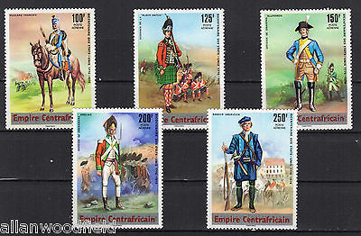 Central African Republic   #c139-C143   Mint Nh   (1607188)