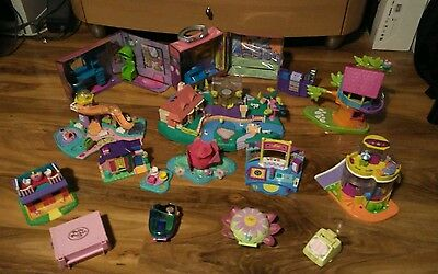 great large polly pocket bundle and accessories