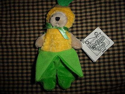 Ganz Wee Bear Village~ Corn Small With Tags