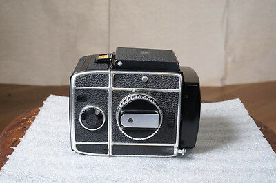 Rollei SL66 Body with 120mm Back   Parts or Repair   Rolleiflex
