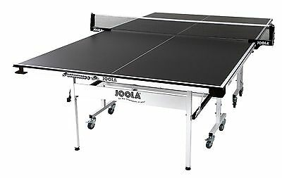 JOOLA Rally TL 300 Table Tennis Table with Corner Ball Holders and Magnetic Scor