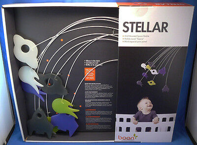 Boon Stellar Baby Nursery Planets,comets,space Ships Mobile,shower Gift,new