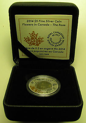 2014 Proof $5 Princess to Monarch Canada COIN/&COA ONLY .9999 silver five dollars