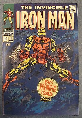 Facsimile reprint covers only to IRON MAN #1, May 1968