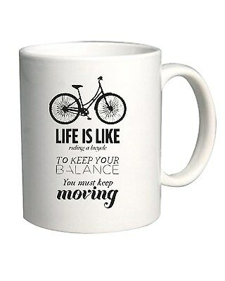 Tazza 11oz CIT0147 life is like riding a bicycle