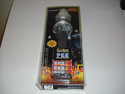 Star Wars Giant Pez General Grevious New Sealed In Package Plays Star Wars Music