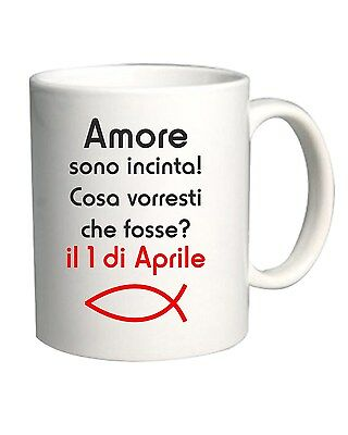 Tazza 11oz T0501 amore sono incinta fun cool geek