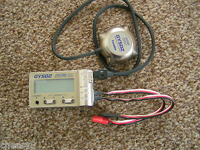 Futaba GY502 SMM gyro Rate heading hold Scale Helicopter