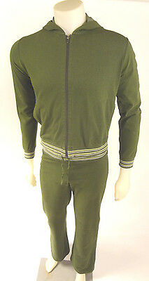 Womens Vintage Patagonia Jogging Track Green Suit Pants Small Jacket Medium