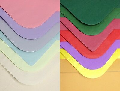 C5 Coloured Envelopes Matt Finish (Choice of colours) Pack of 25