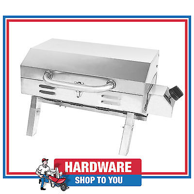 Palm BBQ Stainless Steel Gas Tabletop Camping and Boating Grill