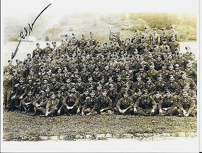 Ed Shames 101St Airborne 506 Pir, Easy Co, Band Of Brothers Rare Signed Photo
