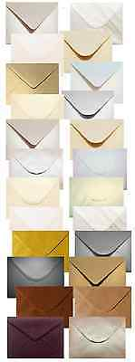 C5 Pearlescent/Shimmer Envelopes Mixed Packs (various options) Packs of 50