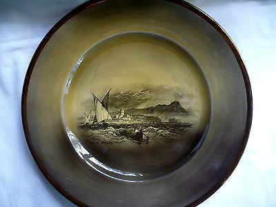 """Royal Vistas Ware, Paintings by Famous Artists, 10"""" Plate, Bay of Naples"""