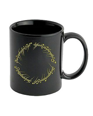 Tazza 11oz T0678 LORD OF THE RING FRASE ELFICA ANELLO film inspired