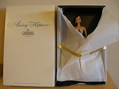 2013 Audrey Hepburn As Sabrina Barbie Doll Gold Label Collection