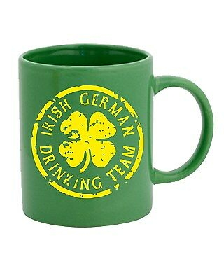 Tazza 11oz TIR0100 irish german drinking team dark tshirt
