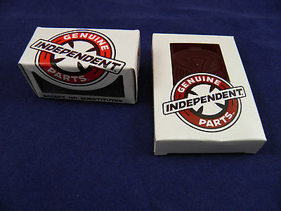 "Independent 1.25"" Phillips Skate Hardware + Independent Skateboard 1/4"" Riser Pa"
