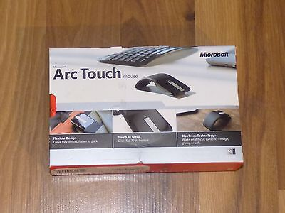 Microsoft Arc Touch Mouse Mice Wireless USB For Windows Mac OS X Android
