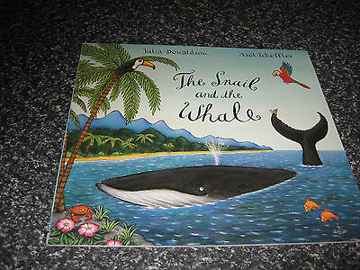 The Snail And The Whale  By Julia Donaldson Softcover Brand New