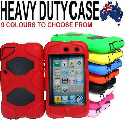 4 IN 1 Heavy Duty Tough Impact Case Cover for Apple iPod Touch 4 4th Gen