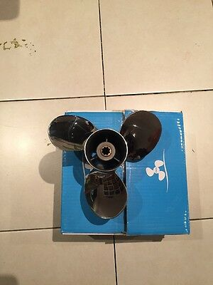Prop Propeller New Stainless Steel To Suit Yamaha 9.9-15Hp Engines