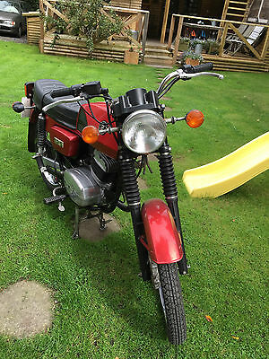 1992 JAWA MZ CZ 125  RED Barn Find Superb  Learner legal  REDUCED   delivery PX
