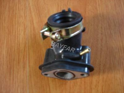 Intake manifold (one port)for Scooter ATV GY6 50 GY6 60 GY6 80cc 139QMB 4 stroke