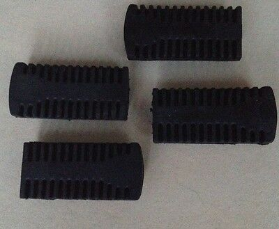 Mini Midi Moto Quad ATV Dirt Bike Rubber Footpegs X4  Pegs Footrest