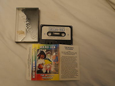 Sunday Flood Of Quality ZX Spectrum Software:- Mikro Gen The Witches Cauldron