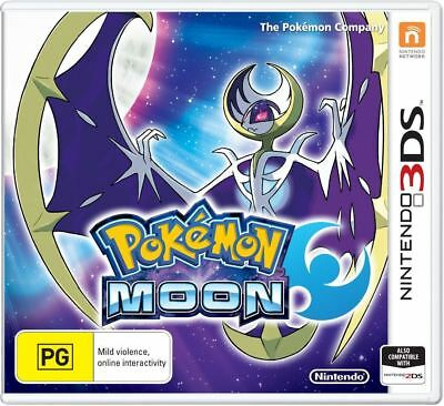 Pokemon Moon 3DS (PAL) Brand New