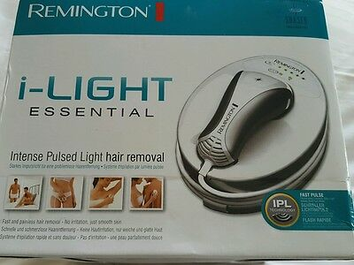 BRAND NEW Remington i-Light IPL4000 Essential IPL Hair Removal System